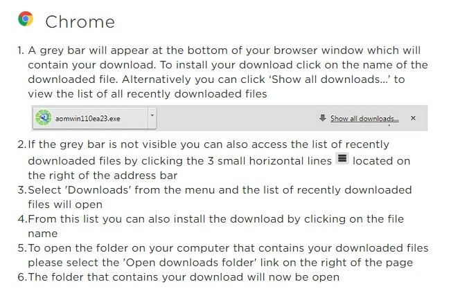 Howto Download